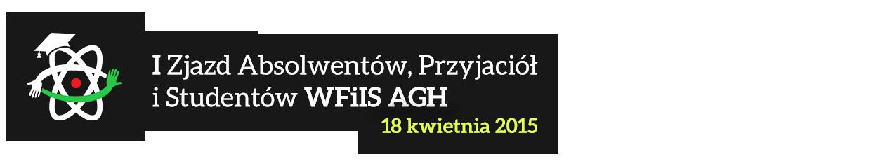 I Zjazd Absolwentów, Przyjaciół i Studentów WFiIS AGH 2015